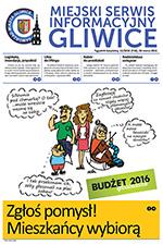 Miejski Serwis Informacyjny - Gliwice nr 13/2015 z 26 marca 2015 r.